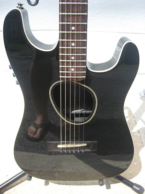 kramer ferrington acoustic electric 80 39 s black vintage reverb. Black Bedroom Furniture Sets. Home Design Ideas