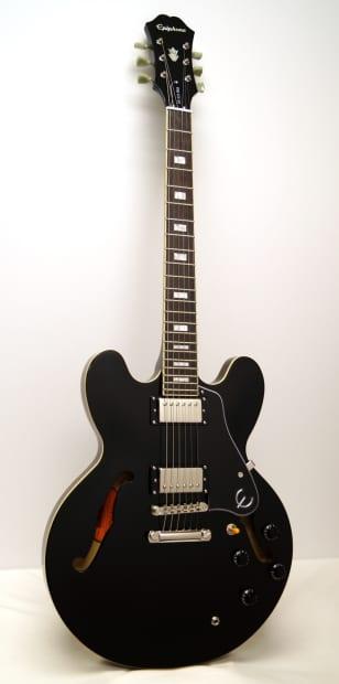 Epiphone limited edition es 335 pro electric guitar ebony