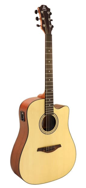 hohner guitars a by hohner as305ce ns acoustic electric reverb. Black Bedroom Furniture Sets. Home Design Ideas