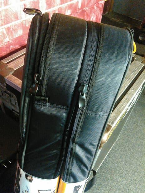 mono m80 dual electric bass gig bag m80 2b blk reverb. Black Bedroom Furniture Sets. Home Design Ideas