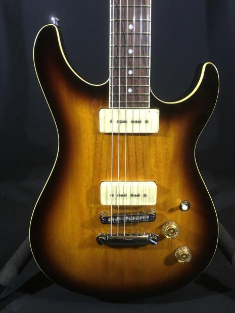 g l tribute ascari gt 90 in tobacco sunburst p90 pickups 6756 reverb. Black Bedroom Furniture Sets. Home Design Ideas