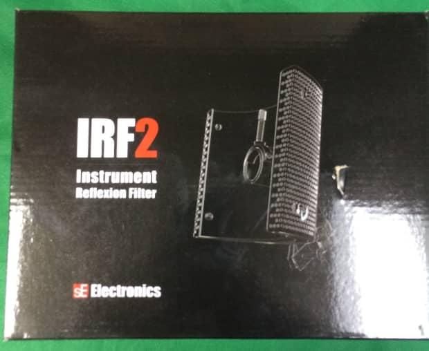 new se electronics instrument reflexion filter 2 irf2 black reverb. Black Bedroom Furniture Sets. Home Design Ideas
