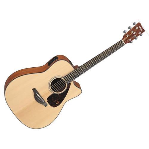 Brand new yamaha fgx700sc acoustic electric folk guitar for Yamaha guitar brands