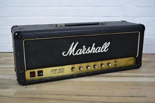 marshall 1982 jcm800 2204 vintage 50 watt tube amp head reverb. Black Bedroom Furniture Sets. Home Design Ideas