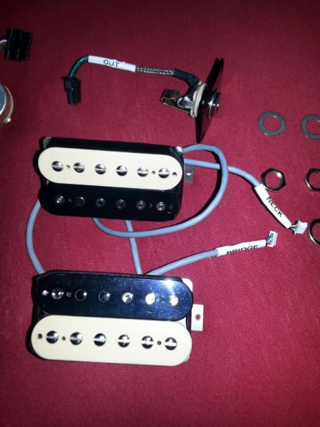 Usa Plus Wiring Harness : Gibson classic plus solderless wiring