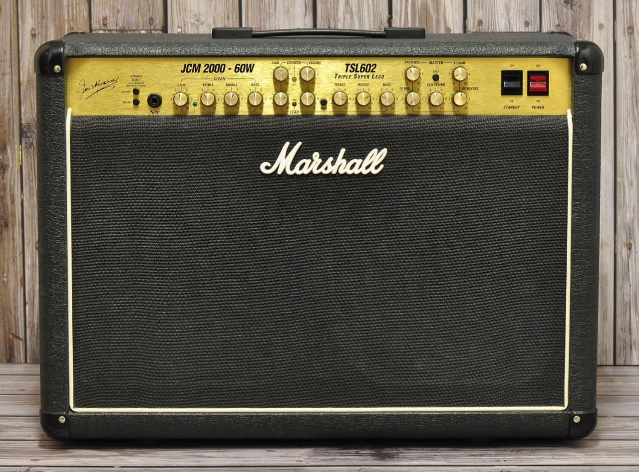 marshall tsl 602 60w 2x12 combo reverb. Black Bedroom Furniture Sets. Home Design Ideas
