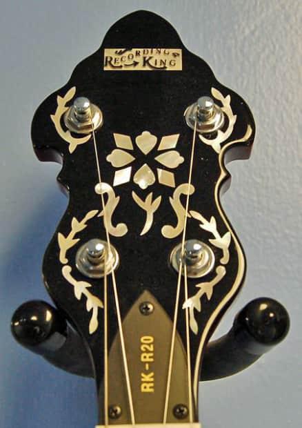 recording king rk 20 banjo reverb. Black Bedroom Furniture Sets. Home Design Ideas