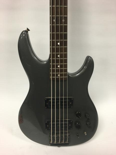 peavey dynabass 5 string dyna bass 1980s early 1990s gun metal grey reverb. Black Bedroom Furniture Sets. Home Design Ideas