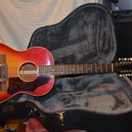 <p>Gibson b25 12string acoustic guitar 1963 cherry sunburst</p>  for sale