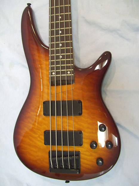 5 string bass guitar active pickups reverb. Black Bedroom Furniture Sets. Home Design Ideas