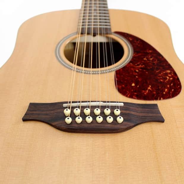 seagull coastline s12 12 string acoustic electric guitar w reverb. Black Bedroom Furniture Sets. Home Design Ideas