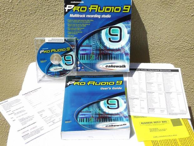 Cakewalk pro audio 9 free download (Windows)