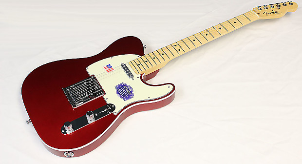 Fender American Deluxe Telecaster 2014 Candy Apple Red