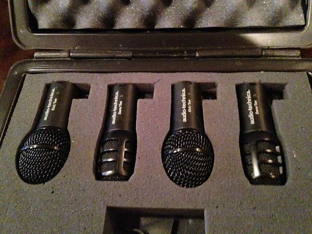 audio technica kit pack drum mics set of four reverb. Black Bedroom Furniture Sets. Home Design Ideas