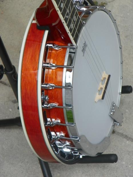 recording king rk r20 rkr20 songster banjo new professional reverb. Black Bedroom Furniture Sets. Home Design Ideas