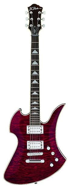BC Rich Mockingbird Contour Deluxe electric guitar Trans ...