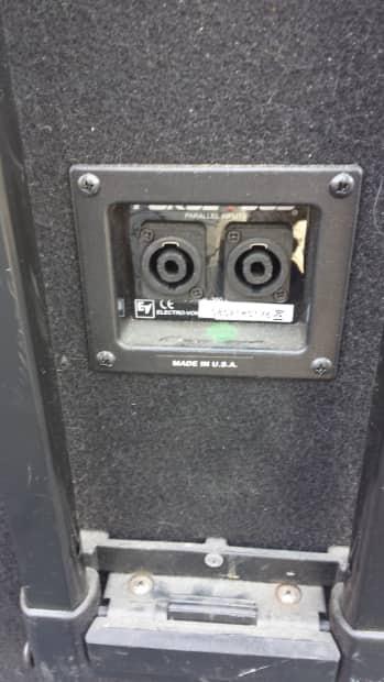 2 Electro Voice Force I Sub 2008 Black Reverb
