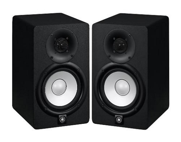 pair 2 yamaha hs8 active studio monitor speakers reverb. Black Bedroom Furniture Sets. Home Design Ideas