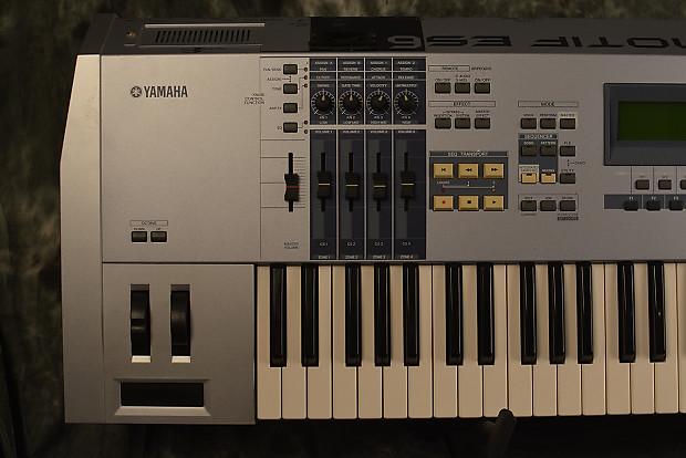 yamaha motif es 6 61 key keyboard synthesizer workstation w reverb. Black Bedroom Furniture Sets. Home Design Ideas