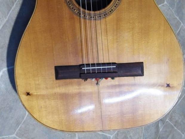 vintage musikalia classic guitar chitarra catania italia dr reverb. Black Bedroom Furniture Sets. Home Design Ideas