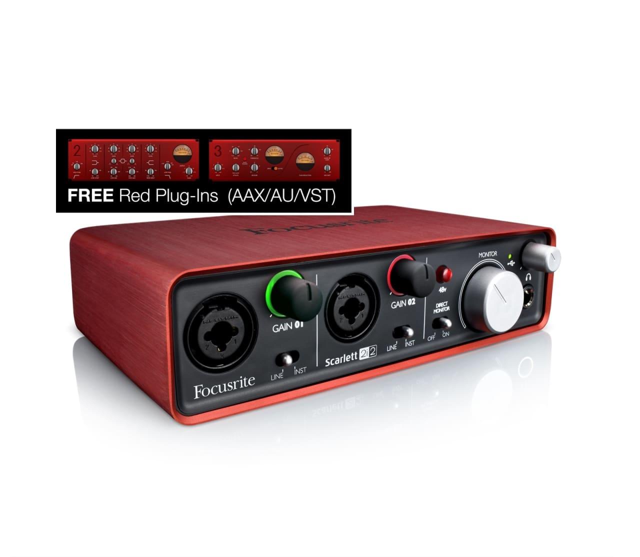 Focusrite Scarlett 2i2 USB Audio Interface | Reverb Scarlett 2i2
