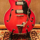 Vintage 1970s Epiphone EA250 Cherry Red 335 Style Guitar MIJ Japan image