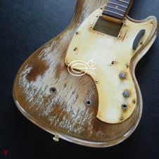 1965 Gibson Kalamazoo KB-1 Vintage White Aged Relic image