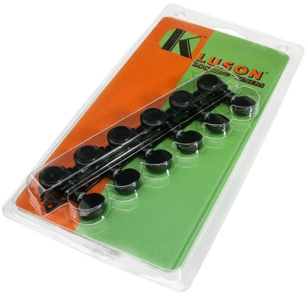 kluson revolution locking guitar tuners retrofit fender 39 70s f tuners black reverb. Black Bedroom Furniture Sets. Home Design Ideas