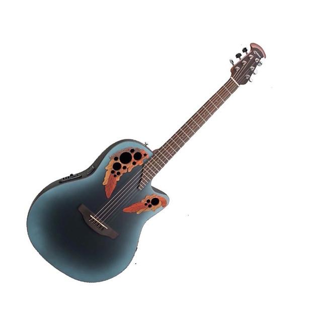 ovation celebrity elite ce44 6 string acoustic electric reverb. Black Bedroom Furniture Sets. Home Design Ideas