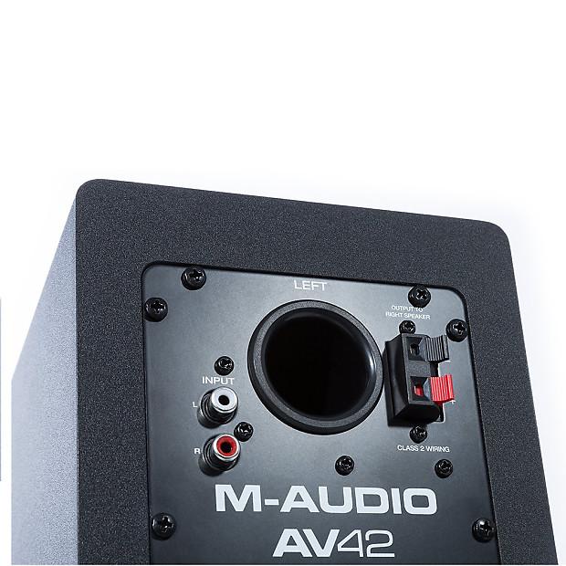 M audio av42 professional home studio recording 4 monitor reverb - Upgrade studio m ...
