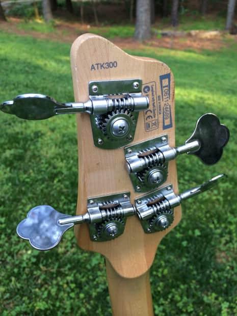 ibanez atk 300 black 4 string active bass guitar stingray reverb. Black Bedroom Furniture Sets. Home Design Ideas