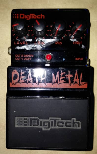 Guitar Pedals For Death Metal : digitech death metal distortion guitar fx effects pedal reverb ~ Hamham.info Haus und Dekorationen