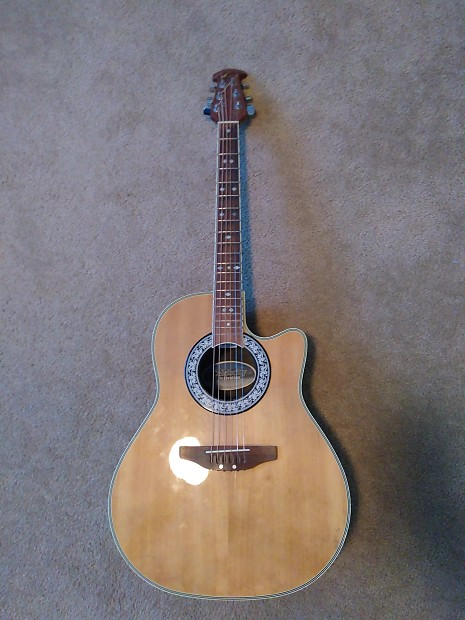 Used Ovation Celebrity CC68 Acoustic Electric Guitar ...