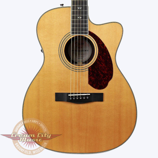 brand new fender paramount pm 3 deluxe triple 0 acoustic electric guitar in natural with case. Black Bedroom Furniture Sets. Home Design Ideas