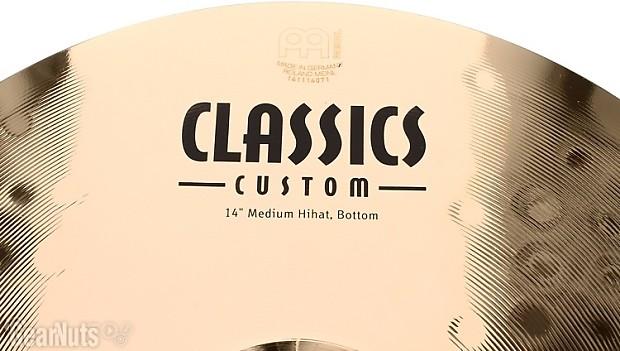 Meinl cymbals classic custom bonus cymbal box set free 18 for 2 box auto con stanza bonus