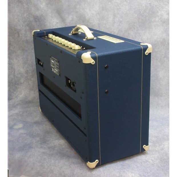 vox ac15c1 limited edition electric guitar amp blue reverb. Black Bedroom Furniture Sets. Home Design Ideas