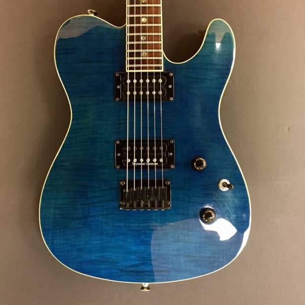 Road Runner Auto Sales >> Fender Telecaster FMT HH Transparent Blue with case | Reverb