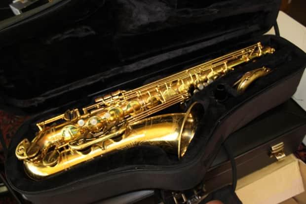 yamaha yts 62 professional tenor saxophone purple label. Black Bedroom Furniture Sets. Home Design Ideas