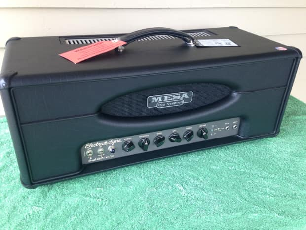 mesa boogie electra dyne head includes footswitch cover reverb. Black Bedroom Furniture Sets. Home Design Ideas