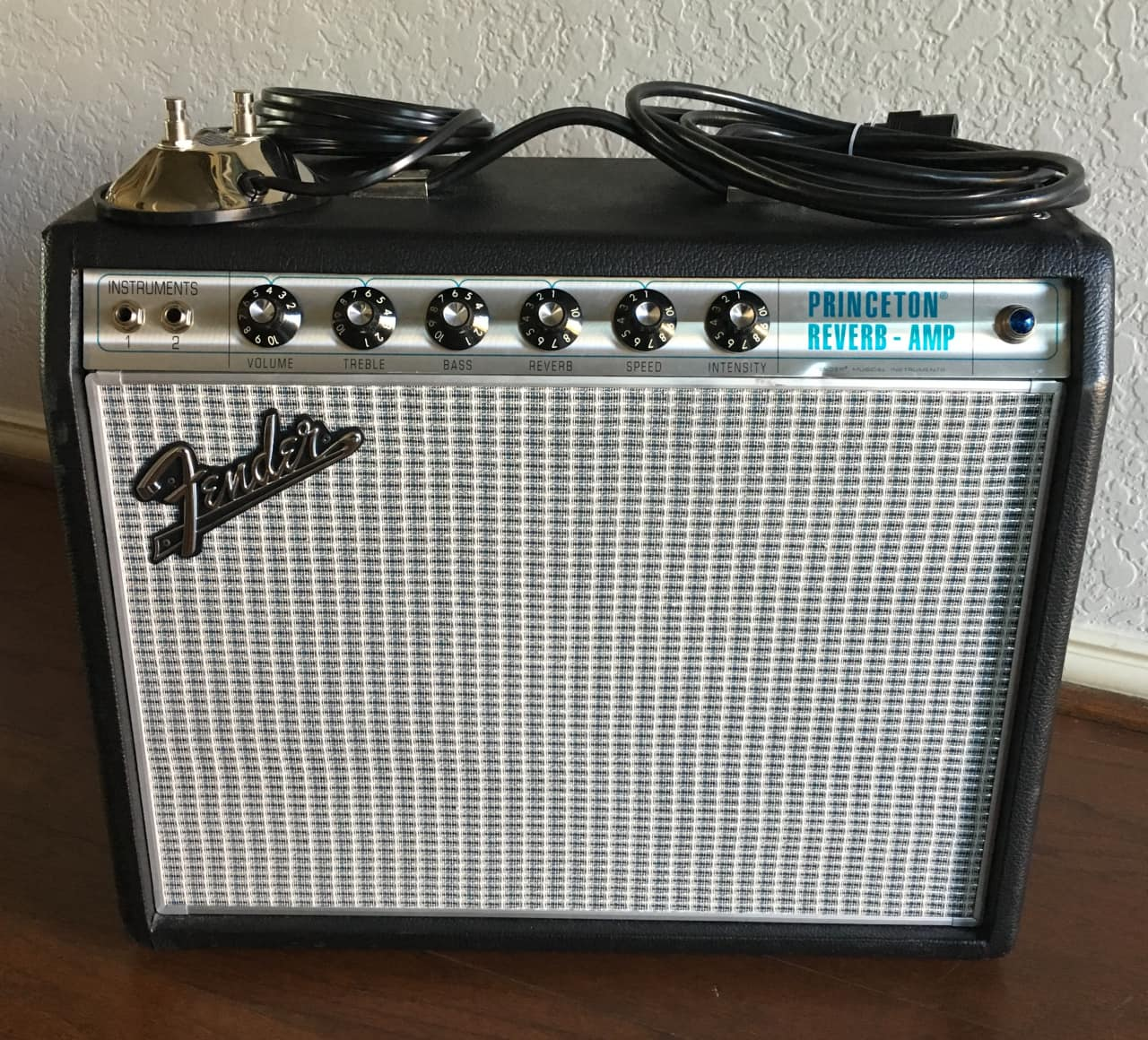 Fender Princeton reverb reissue Owners manual