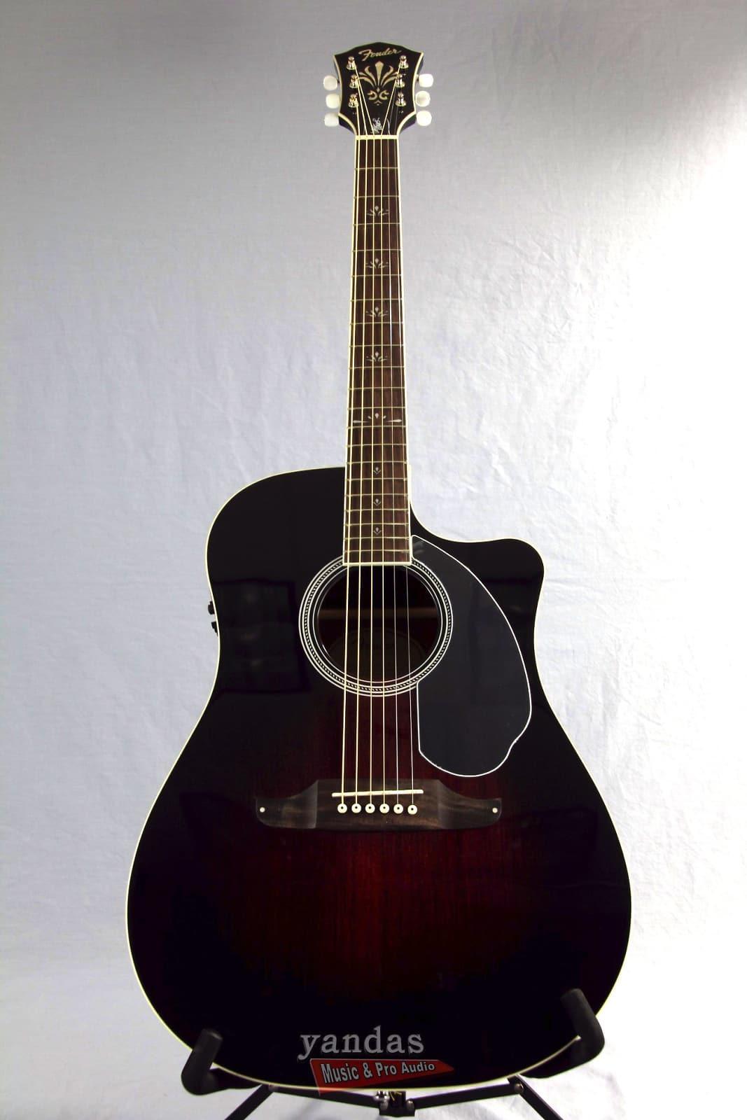 fender wayne kramer dreadnought ce acoustic electric guitar reverb. Black Bedroom Furniture Sets. Home Design Ideas