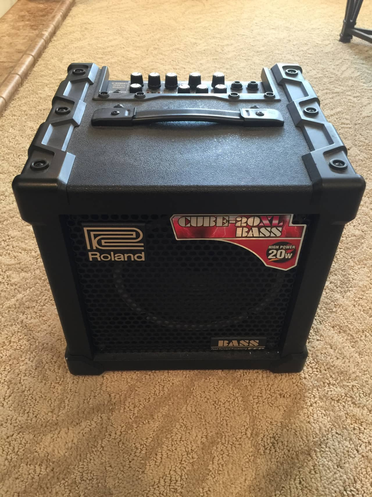roland cube 20xl bass manual