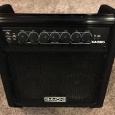 Simmons DA 200s - keyboard, E drum, amp, pa, amplifier, monitor image