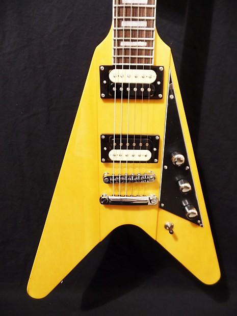 reverend guitars volcano flying v electric guitar vintage reverb. Black Bedroom Furniture Sets. Home Design Ideas