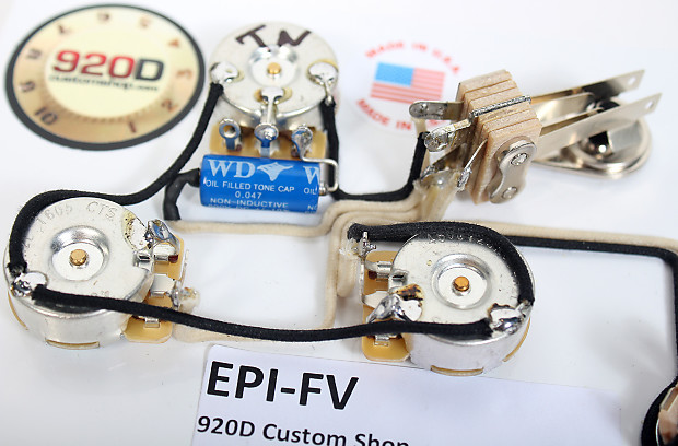 920d wiring harness for gibson epiphone flying v for reverb