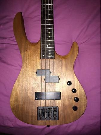 carvin x44 xccelerator 4 string walnut neckthru bass guitar reverb. Black Bedroom Furniture Sets. Home Design Ideas