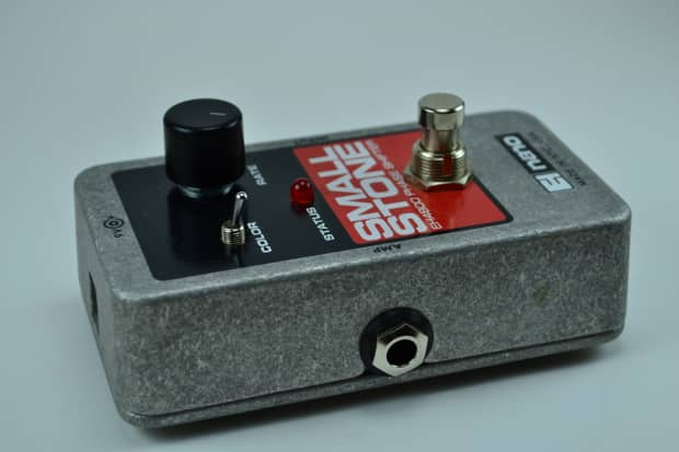 used electro harmonix small stone phaser guitar effects pedal reverb. Black Bedroom Furniture Sets. Home Design Ideas