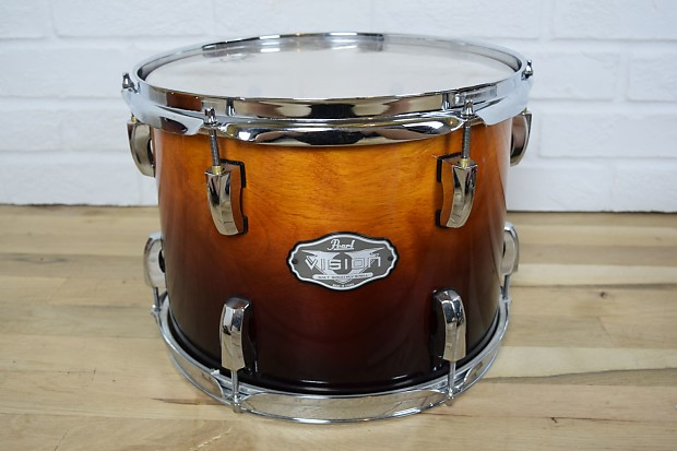 pearl vision sst birch shell 12x9 tom drum mint used drums reverb. Black Bedroom Furniture Sets. Home Design Ideas