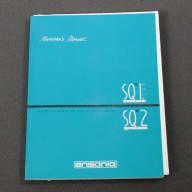 Ensoniq SQ-1 Plus / SQ-2 Original Owner's Manual