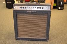 Vintage 1960's Ampeg Gemini VI GS-15-R Guitar Amp Amplifier #14791 image